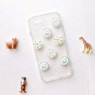 Summer fireworks candy Mishima mobile phone transparent all-inclusive soft shell