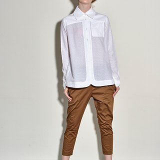 Khaki triangle cut nine pants