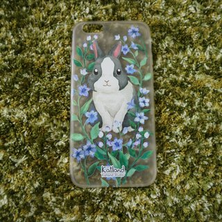 Your Own Design - Purple Black White Rabbit Case Case Case Case