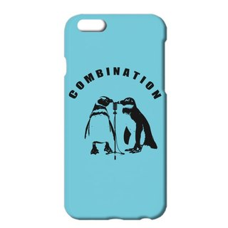[IPhone case] combination / Blue