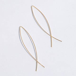 Pisces Earrings / 925 Sterling Silver / Gold / Earrings / Earrings