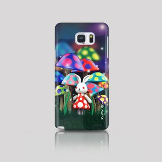 (Rabbit Mint) Mint Rabbit Phone Case - Bu Mali Mushrooms Series Merry Boo - Samsung Note 5 (M0003)