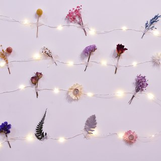 DIY LED small star light group USB power supply line room layout Tanabata marriage proposal