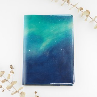 Aurora Starry Book Leather Pocket Set A5 Hand Sewing