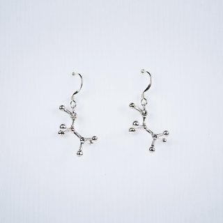 [Chemistry of the United States] alcohol sterling silver earrings