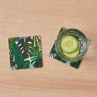 BOTANICAL COASTERS SET OF 2