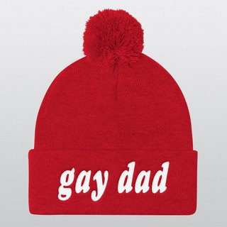 Gay Dad, Gay, Gay Wedding, Gay Hat, Pride Hats, Gift for Him, Gay Gifts, LGBT Hat, Pride, LGBT, Gay Pride, LGBT Pride, Beanie Hats, Beanie