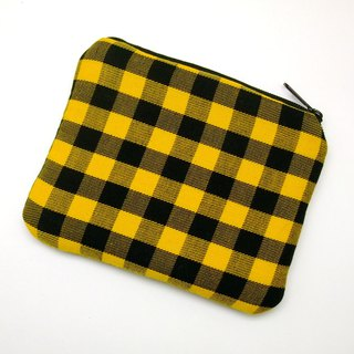 Zipper pouch / coin purse (padded) (ZS-258)