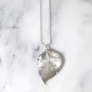 Leaf Rubbing Series Madeira Vine Necklace
