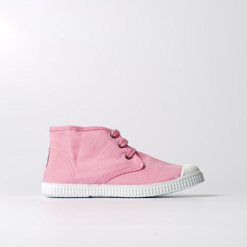 西班牙帆布鞋 Chukka靴款 粉紅色 香香鞋 60997 69