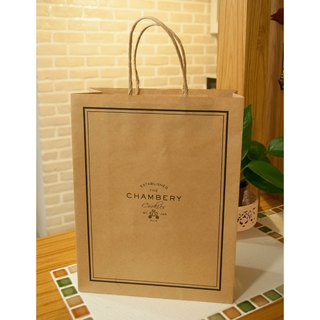 [Chebery CHAMBERY] + limited plus purchase + beautiful bag / environmental protection kraft paper / fashion gift French style