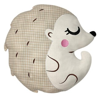 Fairy Land Organic Cotton Pillow - Hedgehog