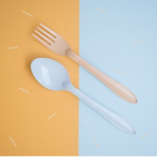 Light Blue Spoon+Orange Fork : Switch 🍭 Sweet Collection