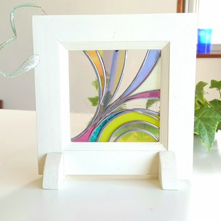 Wooden frame art Spring breeze