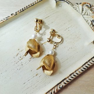 Vintage tulips Earrings
