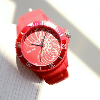 【PICONO】POP Circus Sport Watch - Magician(Red) / BA-PP-06