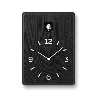 LC10-16 BK and windy cuckoo clock - black