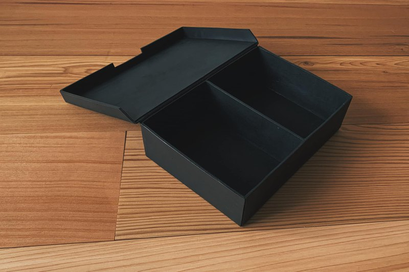 Cut Leather Storage Box / Storage Box / Jewelry Box Hand-stitched Vegetable Tanned Cow Leather