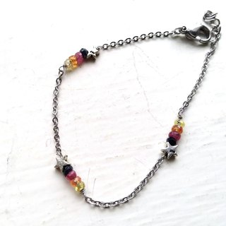 Three wishes - Corundum bracelet