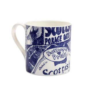 British Gillian Kyle Scottish Breakfast Pope Totem Mug - Spot