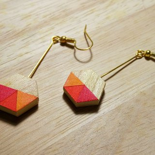 Wooden Earring No.23