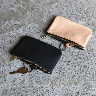 Original key card package, vegetable tanned cowhide, can be loaded with keys, change and card [LBT Pro]
