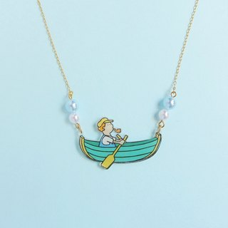 Boat ride Necklace