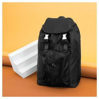 I'm Peter Peter - Front pouch pocket backpack - Black