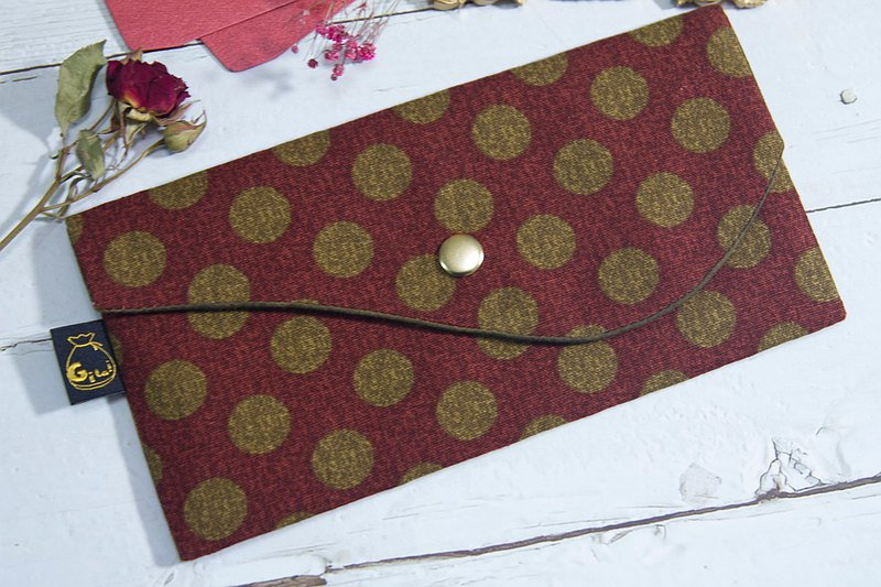 【Gi LAI】10*20Cm Lucky Red Packet Passbook Bag-Niwa Maru