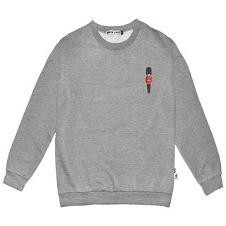 British Fashion Brand -Baker Street-Little Stamp:Grenadier Guard Printed Sweater