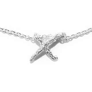 X. / Silver Necklace