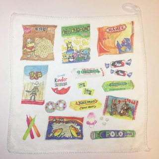 Hong Kong Series - Hong Kong Nostalgic Snack Towel