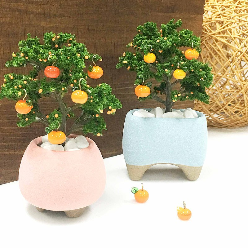 【ワークショップ】Glass burning and mini orange tree ornaments burning workshop