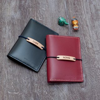 Be Two ∣ personalized handmade passport holder / passport holder / card holder / card holder / must go abroad (multicolor)