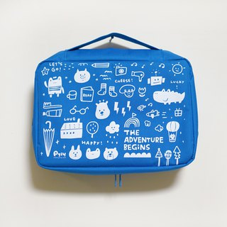 Easy to use storage bag _ blue