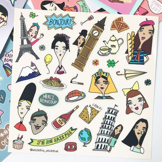 SIGNATURE STICKER SHEET - #08