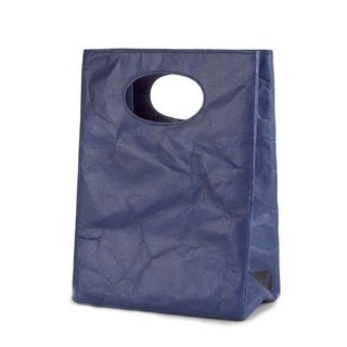 【Tyvek 100% Fiber Paper】 Graffiti dual-use bags - navy blue