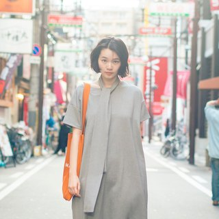 Dust dust change strap dress _8SF104_dark gray