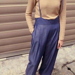 Tannin Tencel Cotton Belted Pants (S number clear)