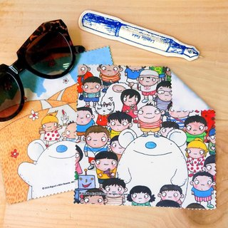 A-market big mud glasses cloth-02 big city small King, AMK-BSLC00102