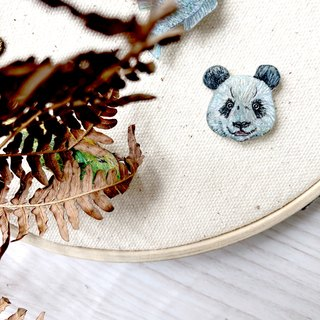 adc | party animal | panda | brooch