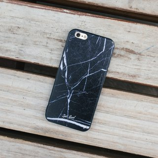 Original Black Real Marble Phone case (iPhone,Samsung model)
