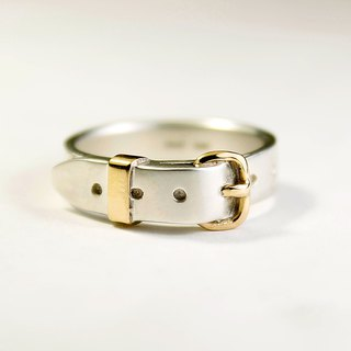 Belt Ring cute SV 5mm