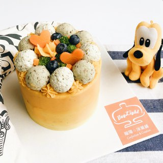 Hair Boy Series • Small cake designed for dogs - 3 吋 double-layered meat cake