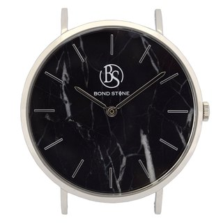 BOND STONE SHINE BLACK MARQUINA 40mm watch body only (belt optional)