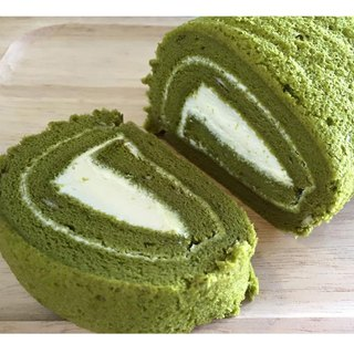 道地静冈抹茶卷-16CM#Japan Pure Shizuoka Matcha#Fresh and not greasy fresh cream #松软密密