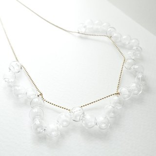 Lace - Simple Glass Necklace
