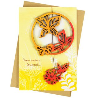 May happy joy always accompany you [Hallmark-Creative Handmade Cards]