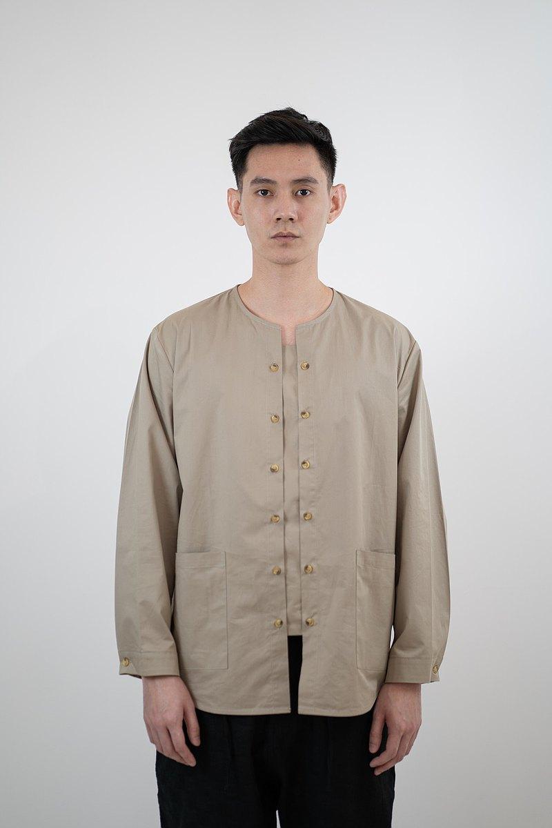 模塊化門襟襯衫