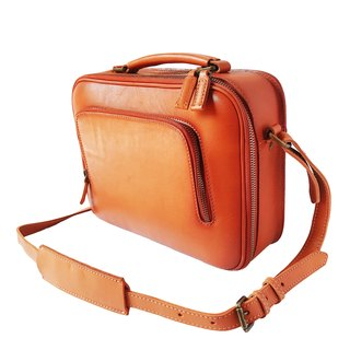 Goody Bag - [La Fede] Vegetable Tanning - Original Series - Briefcase - Light brown